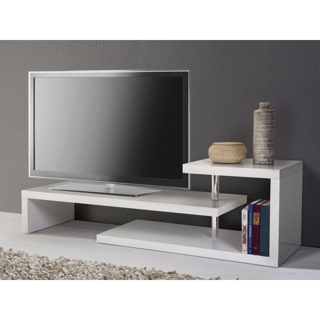 jahnke tv rack meuble télé laqué taupe | meuble tv longueur 100 cm | meuble télé jahnke |  table
