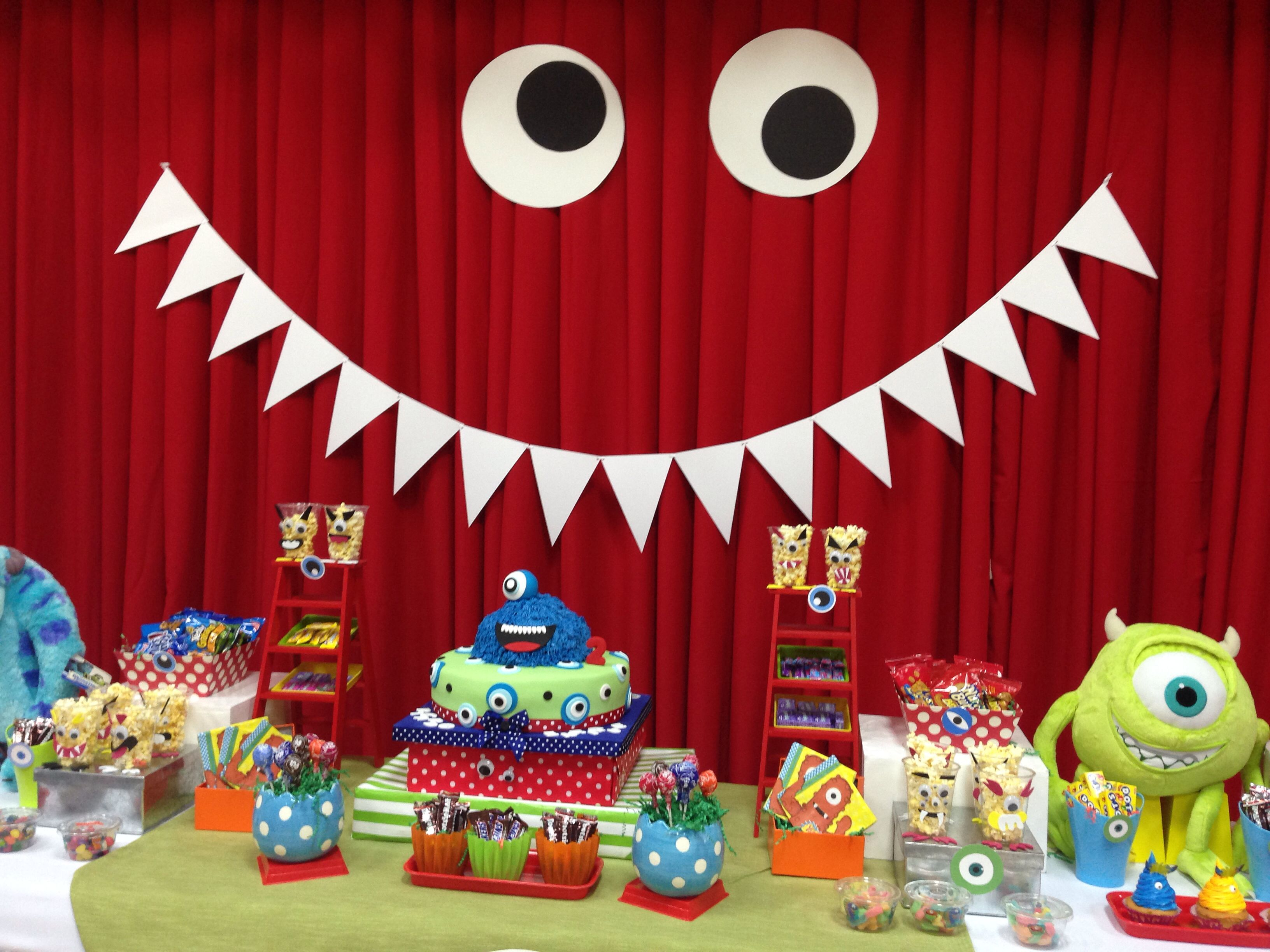 Little Monster Party Decor