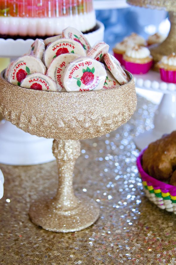 Dessert Table by Minted and Vintage | Colorful Mexican ...