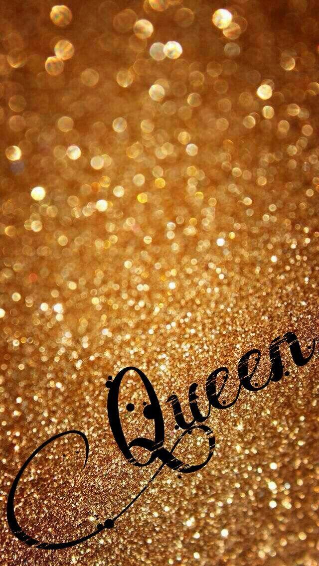 Gold Glitter Queen Wallpaper Glitter Wallpaper Screen Savers Wallpapers Gold Wallpaper