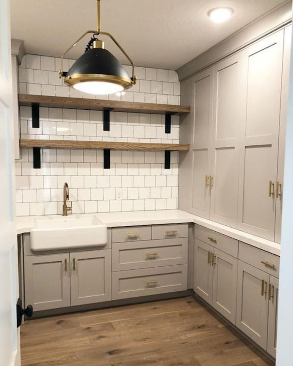 Hartland Kitchen And Laundry Room Remodel: Beautiful Homes Of Instagram (Home Bunch