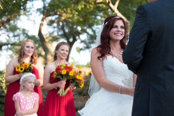 Southern Fall Country Wedding