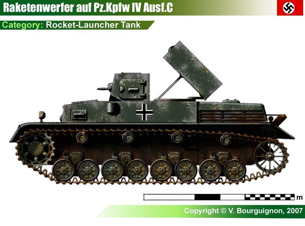 Raketenwerfer Auf Pz Kpfw IV | Axis Vehicles of WWII (WIP