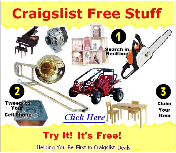 How To Find Free Items On Usa Craigslist Search Free Items Free Free Samples