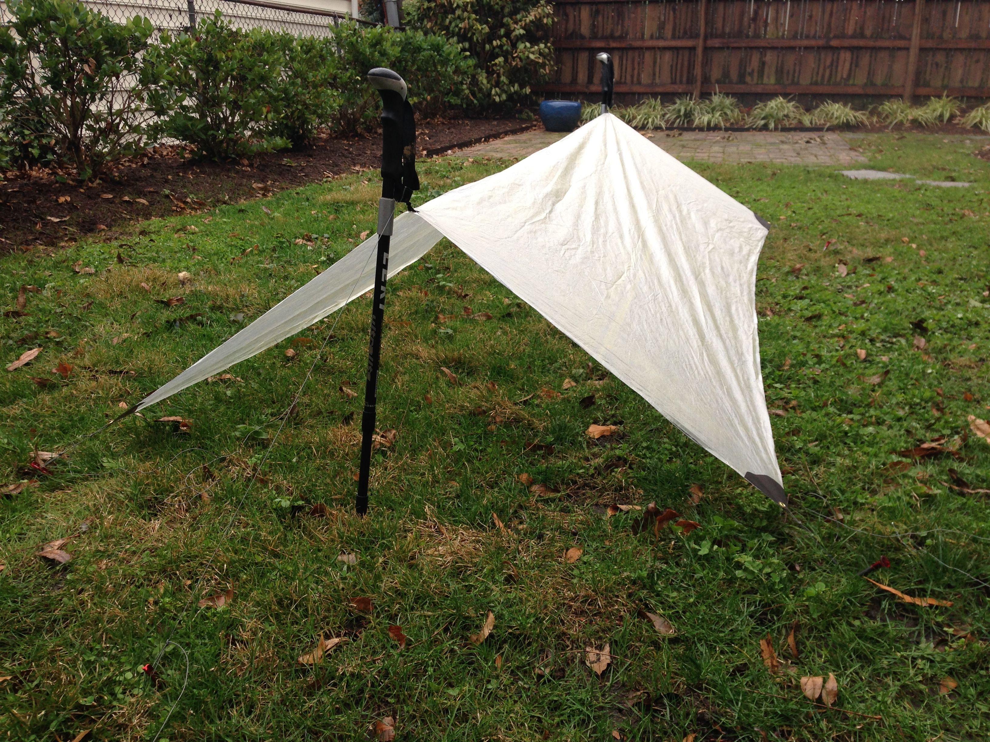 Diy Two Ounce Tarp Because It S There Ultralight Backpacking Backpacking Ultralight Hiking