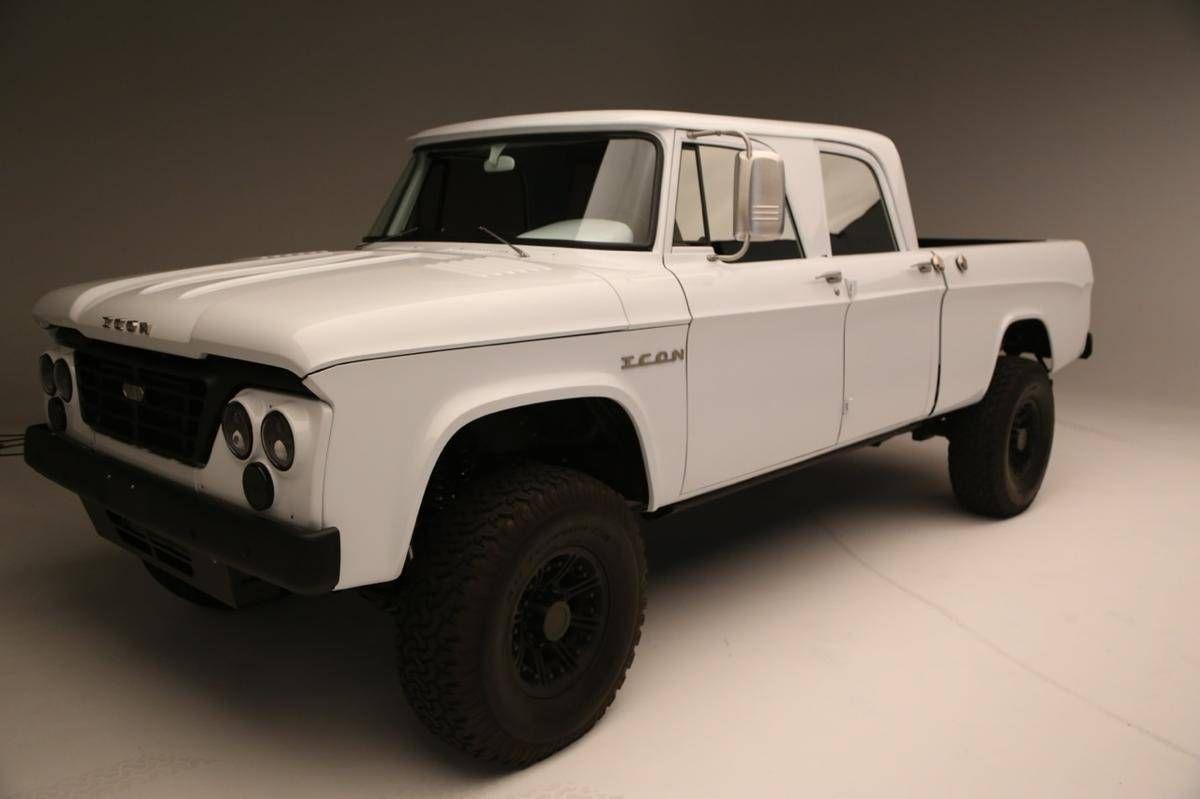 1965 Dodge D200 Crew Cab Icon Custom For Sale Hemmings Motor News 1954 Power Wagon