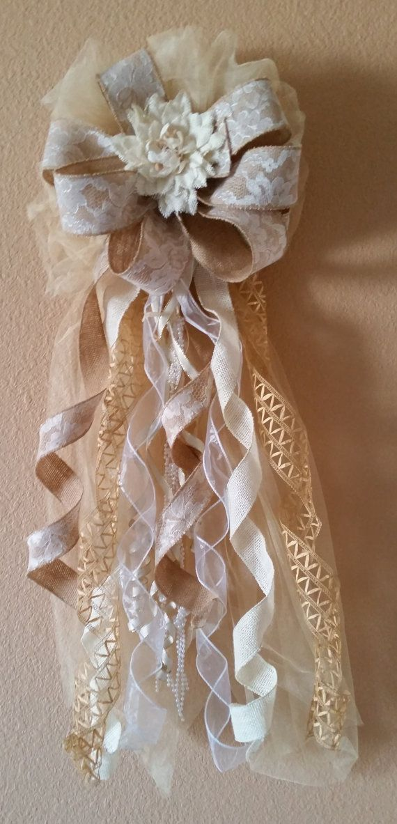Hey, I found this really awesome Etsy listing at https://www.etsy.com/listing/219414846/2-burlap-wedding-bows