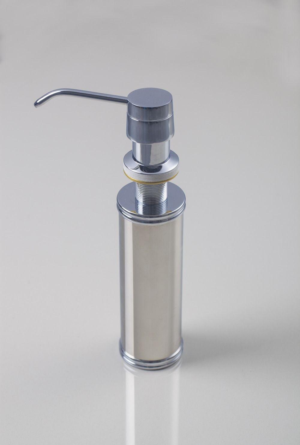 5665 Wholesale And Retail Promotion Kitchen Deck Mounted Chrome Liquid Soap Dispenser Soap Di Sink Soap Dispenser Kitchen Soap Dispenser Replacing Kitchen Sink