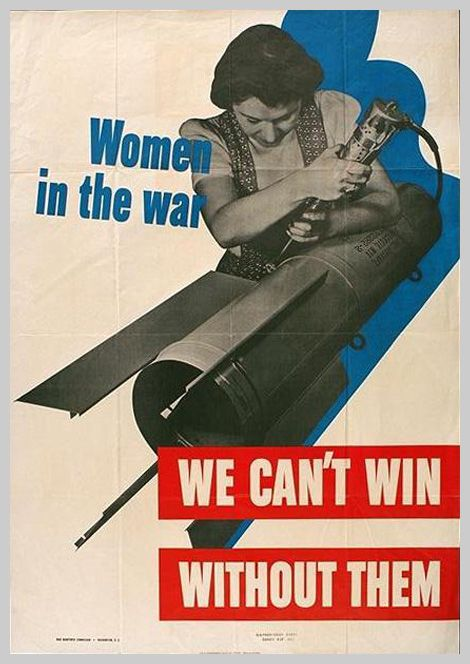 Old war posters are awesome.
