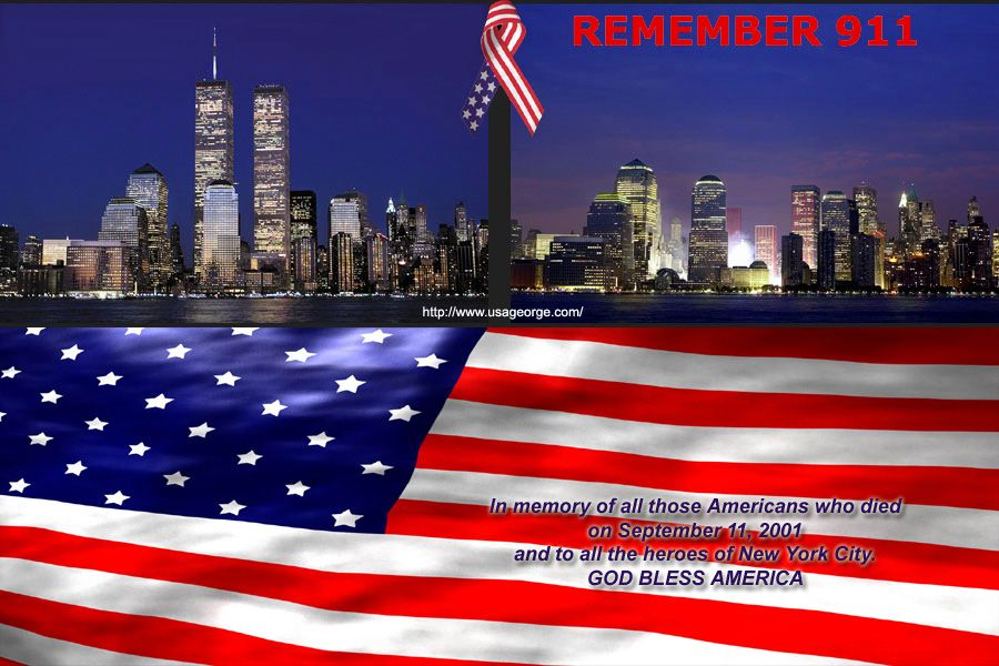 May We Never Forget God Bless America Alan Jackson Places In New York