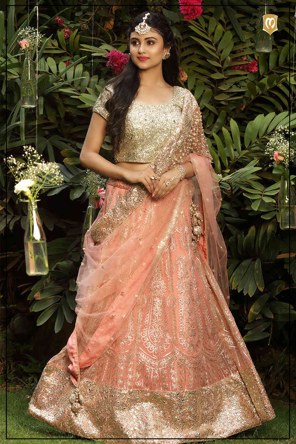 Pin On Mohey Bridal Wear Collection