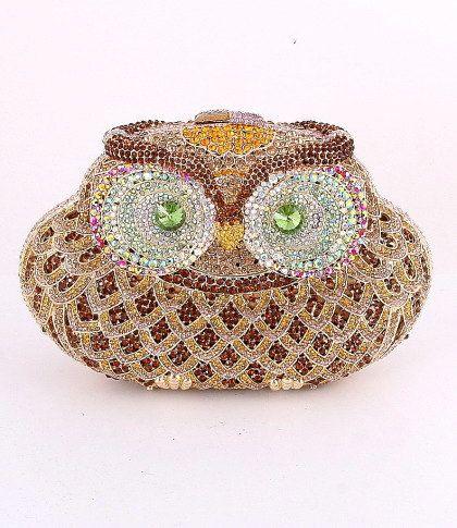 Hey, I found this really awesome Etsy listing at https://www.etsy.com/listing/112756823/fall-purse-owl-crystal-rhinestone