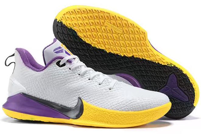 2020 Nike Kobe Mamba Focus White/Purple