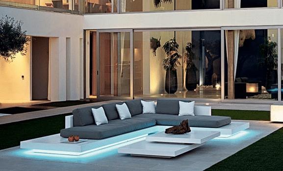 magnifique salon de jardin de luxe | Décoration française ...