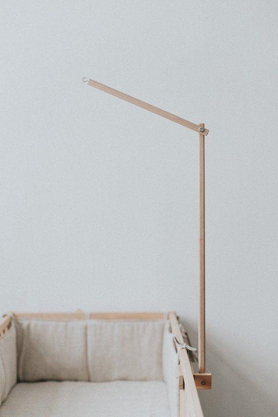 Baby Mobile Hanger / Baby Crib Mobile Holder / Wooden