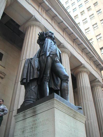 Statue Of George Washington In Front Of Federal Hall Nyc Www Revwill Com