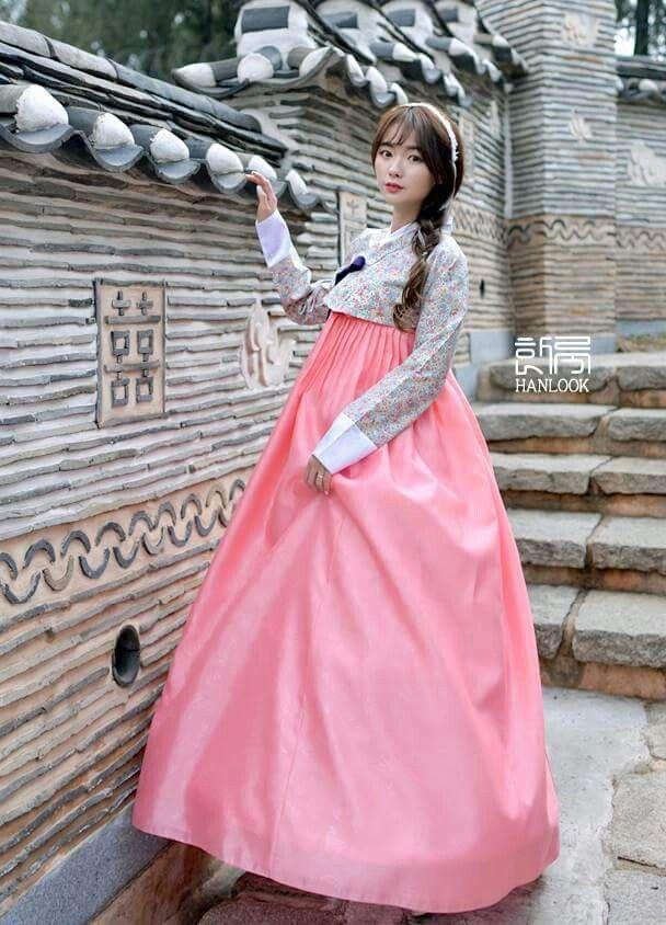 KOREAN HANBOK traditional dress | xv años | Pinterest | Corea del ...