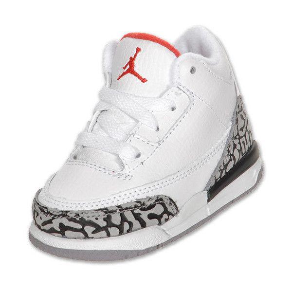 buy popular 26854 5b985 Boys' Toddler Air Jordan Retro 3 Basketball Shoes ($45 ...