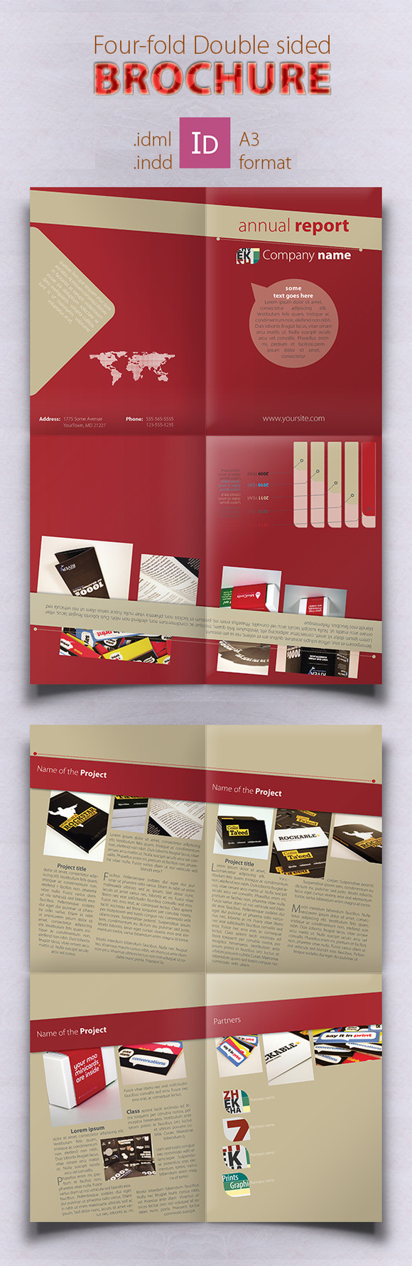 Check out Brochure Template by zheksha on Creative Market