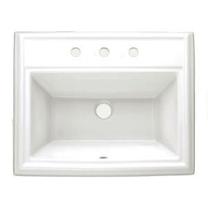 American Standard Town Square Self Rimming Sink With
