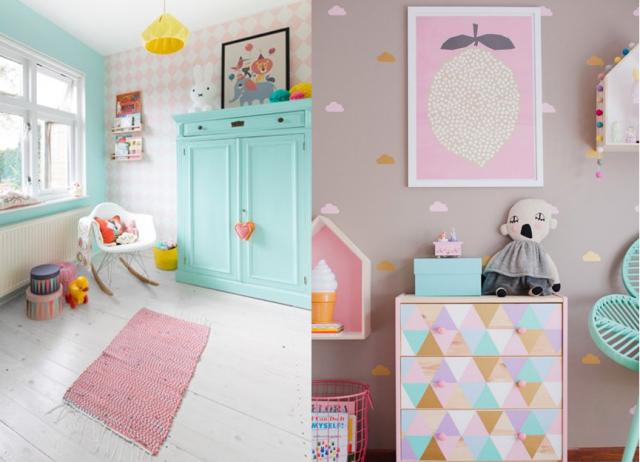 10 inspirations pour une chambre de petite fille  chambre denfants  Pinterest  Chambre