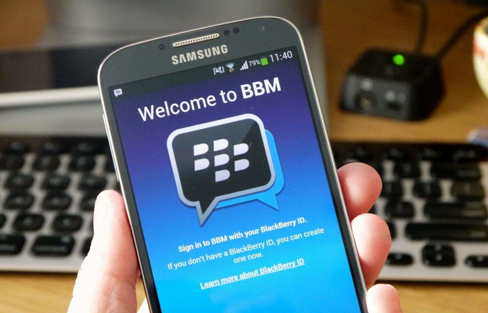 free download blackberry messenger for android