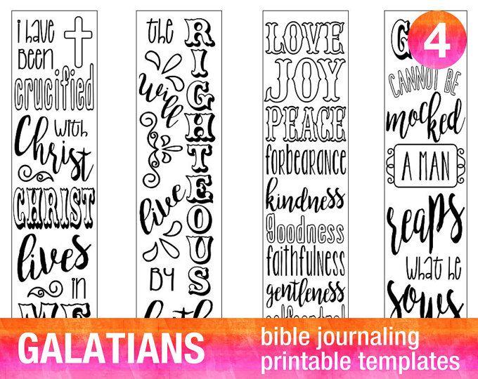 4 bible journaling prayer journal printable templates illustrated