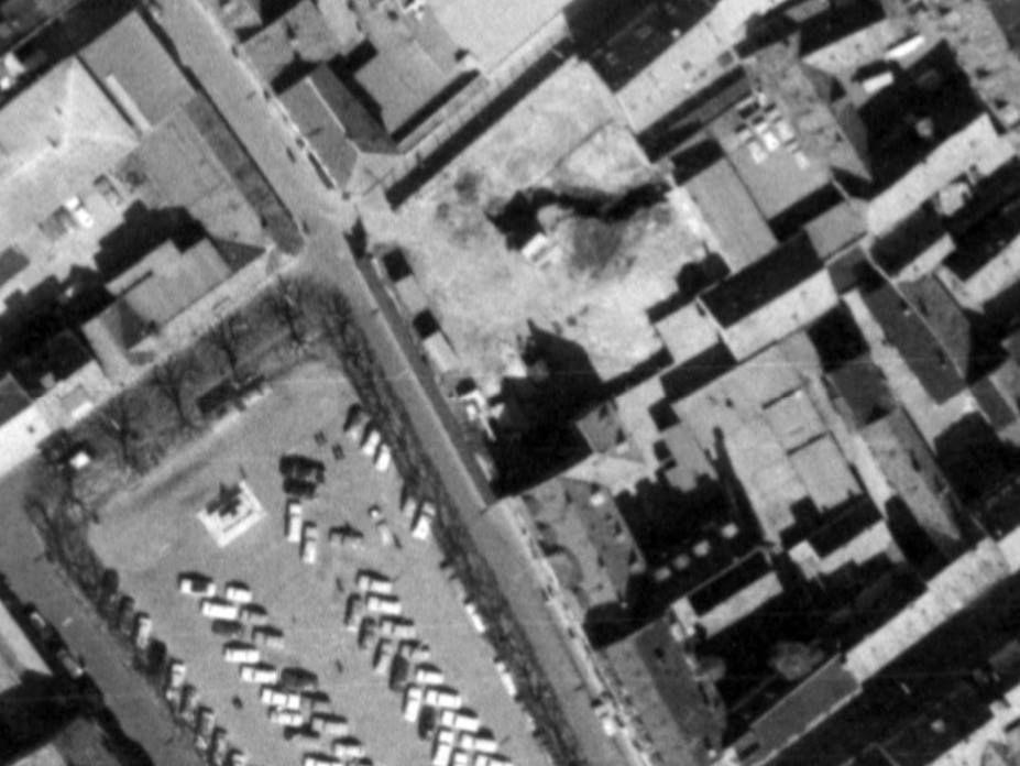 1967 - hjørnegrunden bjergegade-groskenstræde inden lægehus rædslen blev opført