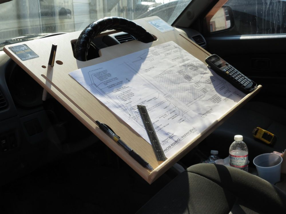 Details about ipad Car laptop tablet notepad Contractor