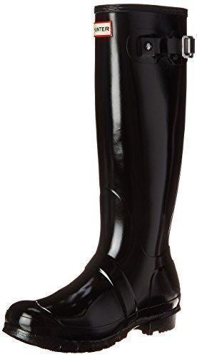 Hunter Original Tall Wellington Boots, Damen Gummistiefel, Blau (Ocean Blue), 40/41 EU (7 UK)