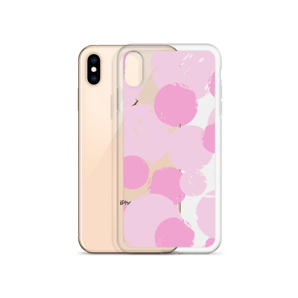 Iphone 11 Case Pink Dots Art Iphone Case Iphone Xs Max Case Iphone Xr Case Iphone X Case Iphone Xs Case Iphone 7 Artistic Case Designer Art Iphone Case Pink Dots Dots Art