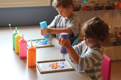Play At Home Mom LLC: 3D Painted Picture Frames