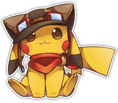 3 72 aud pokemon pikachu dab dance anime window car decal sticker pokemon go dabbing ebay home garden