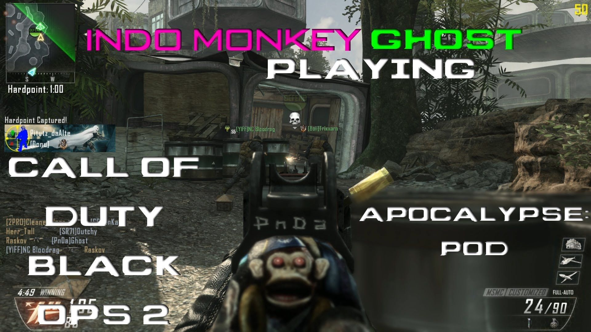 Call Of Duty Black Ops 2 Dlc Map Pack Apocalypse Map Pod Mode