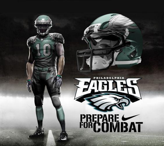 f73c8f05 Philadelphia Eagles Home Uni by DrunkenMoonkey.deviantart.com on ...