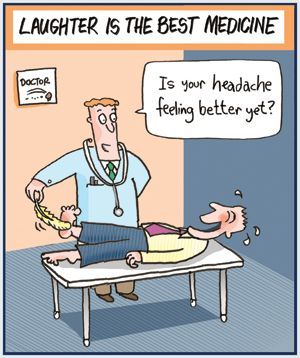 there is good evidence that a hearty laugh has many health laughter is the best medicine cartoons