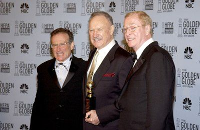 Robin Williams, Michael Caine, and Gene Hackman