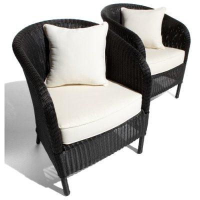 Spray Paint Wicker Chair Black  Going To Paint The Wicker Chair On The  Porch Black Too To Match The Black Rocker.