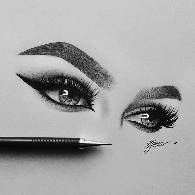 Pinterest Devyndallas Eye Drawing Eye Art Realistic Drawings