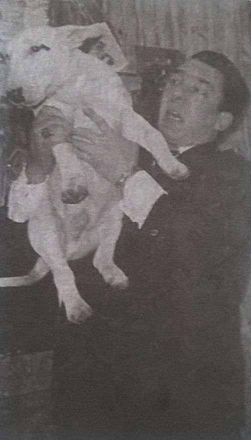 Ron and his dog. (With images) The krays, Black and