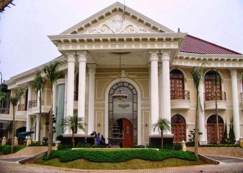 Desain Rumah Mewah Eropa 1 Lantai  gambar desain rumah mewah eropa 2 lantai rumah mewah home