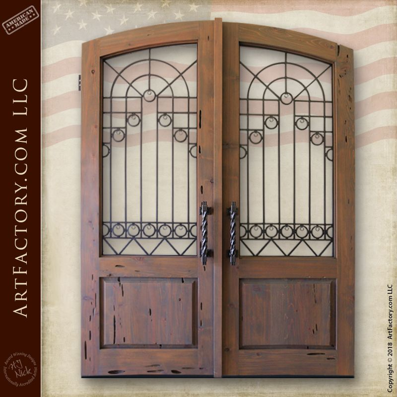 Custom European Entrance Gates Original Fine Art Design By H J Nick Wood Gate Entrance Gates Estate Gates