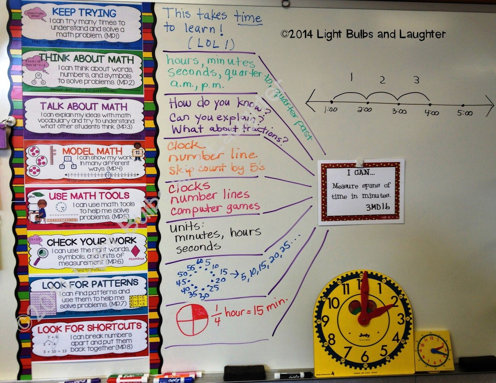 Math 8 Common Core Standards Posters