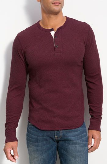 not really an outfit but I really like this henley