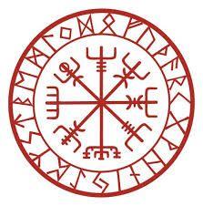 Swedish Runes This May Be My Tattoo Viking Symbols Runic Compass Viking Runes