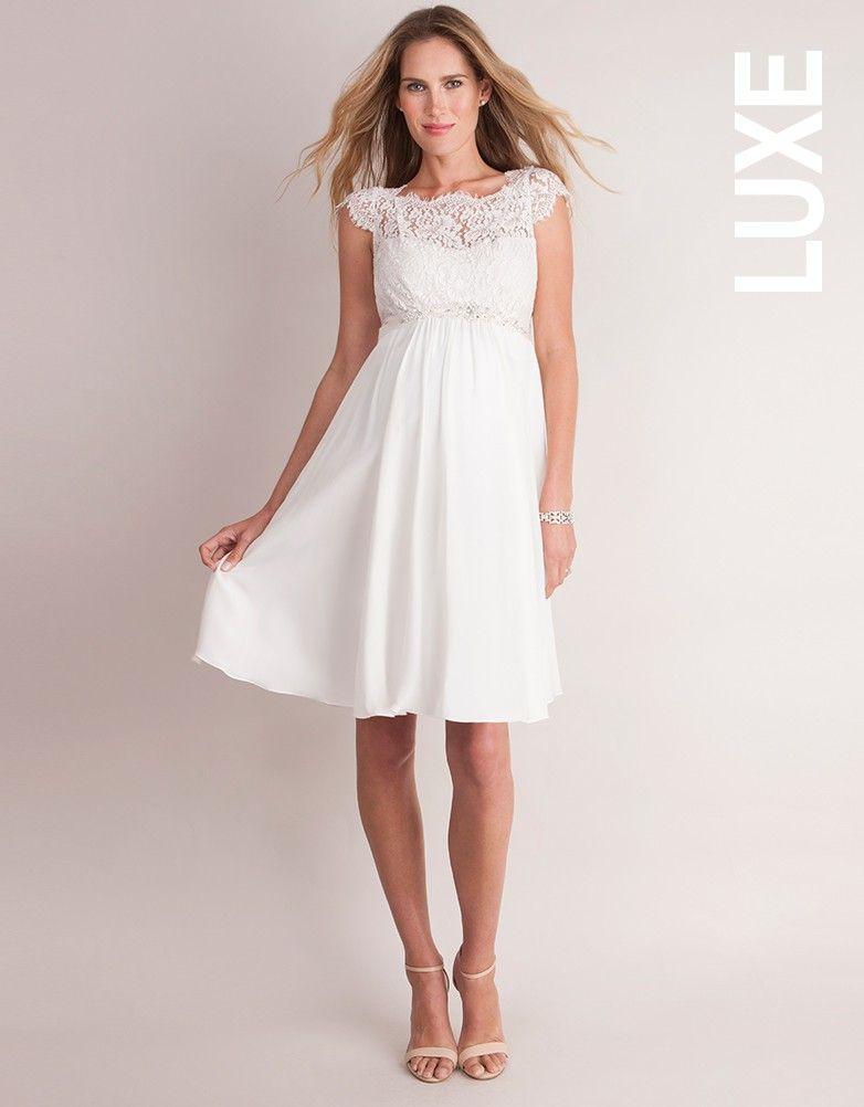 robe de mari e grossesse en soie et dentelle ivoire seraphine robe robe grossesse robe. Black Bedroom Furniture Sets. Home Design Ideas