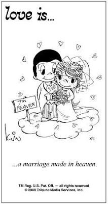Marriage Made In Heaven Love Is Pinterest Love Is Comic