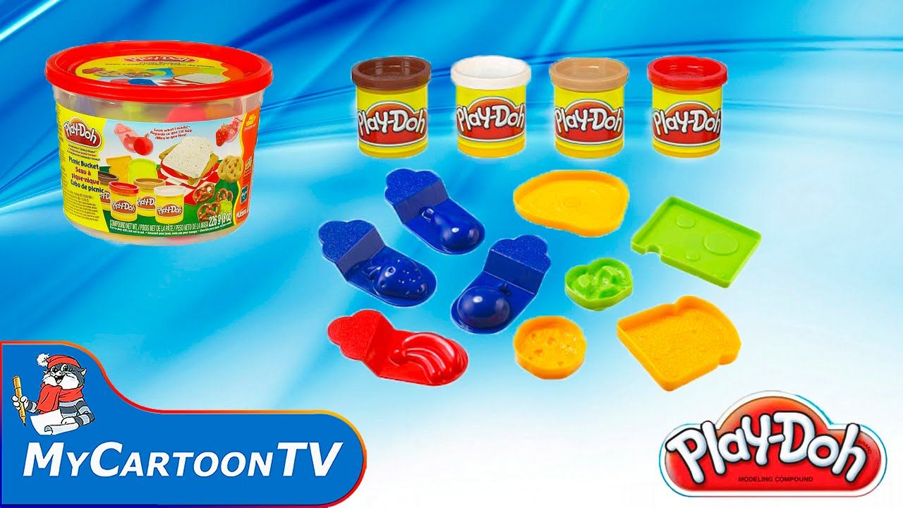 Play Doh 2015 PlaySet Picnic Bucket Review