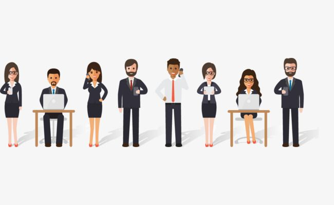 Cartoon Office Workers Cartoon Office Worker To Work Png Transparent Clipart Image And Psd File For Free Download Cartoon Clip Art Clipart Images