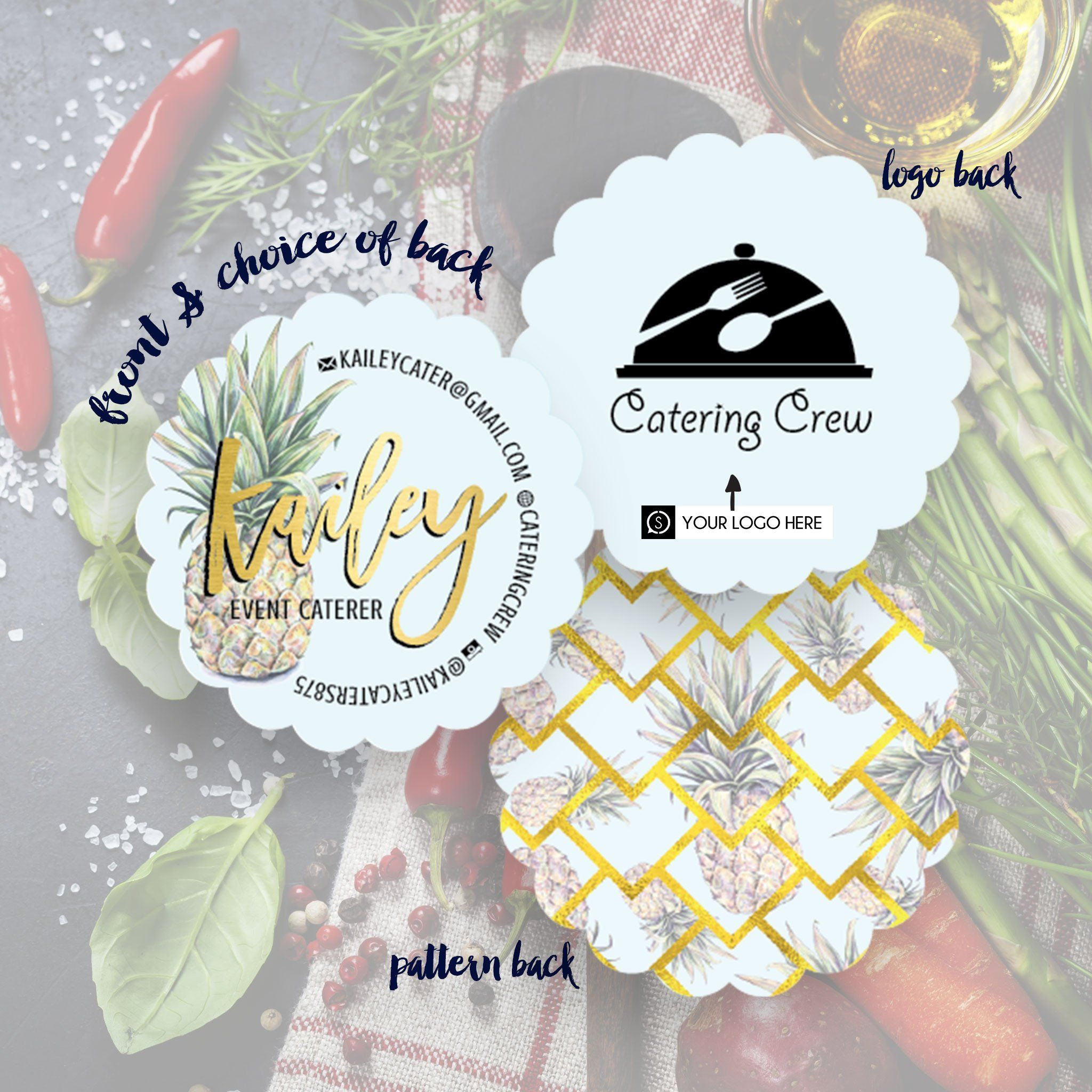 kailey business cards